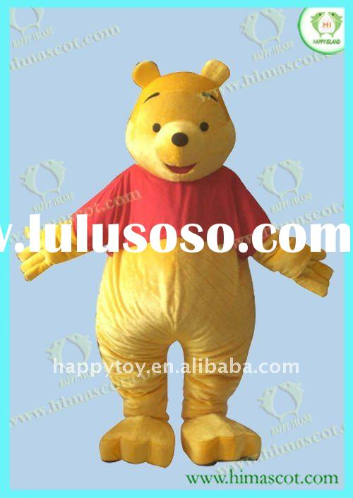 2012 Winnie the pooh costume for adults