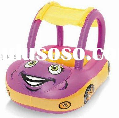 2012 factory direct sale newly design pvc car inflatable baby seat boat