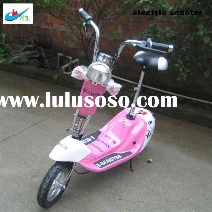 250W pink hub motor electric scooter HL-E18