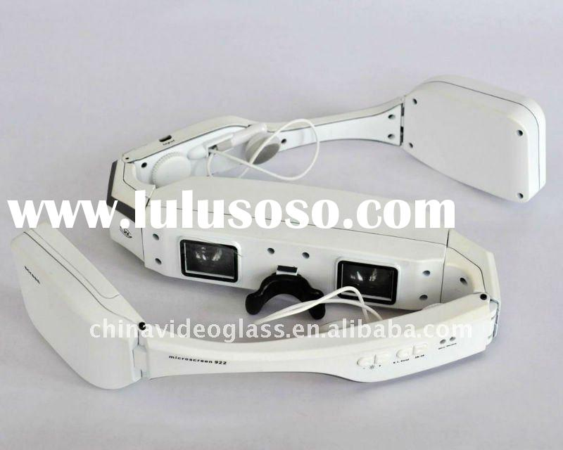 3D 80'' wireless video glasses