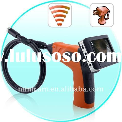 "3.5"" LCD Snake tube camera, industrial inspection Camera with high resolution tools camera DVR"