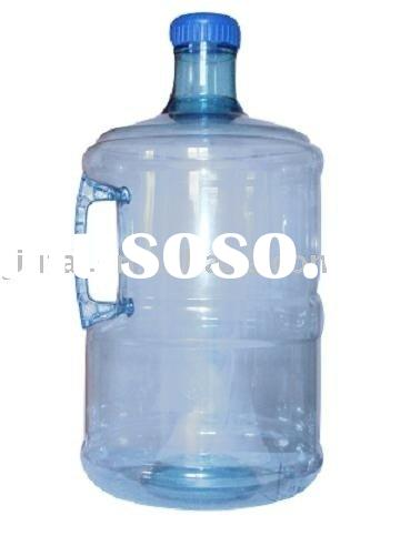 3 gallon and 1.5 gallon bottle with handle