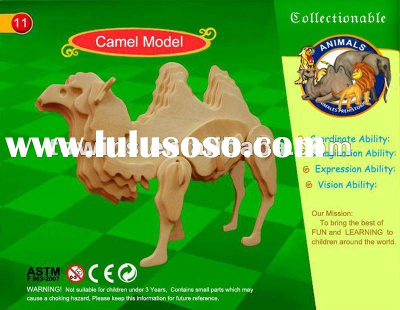 3d Wooden Puzzles 3d Wooden Puzzle Toys With