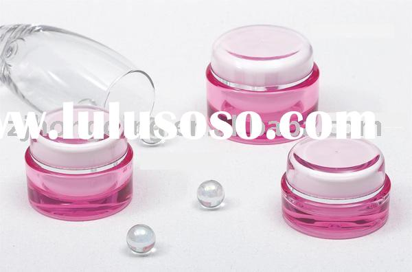 50g palstic acrylic cosmetic jar with clear cap