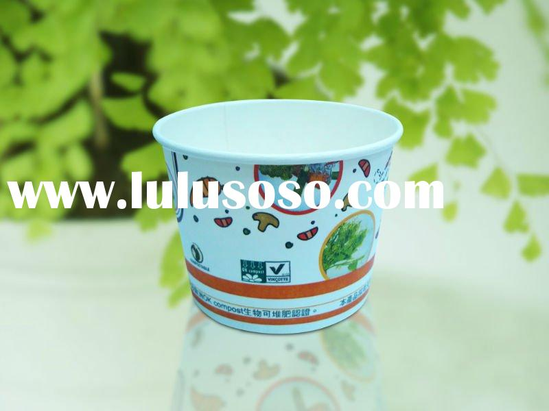 520ml take away paper bowl for hot soup