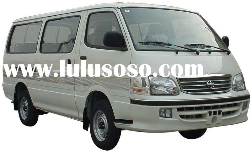 6-12 seats,flat roof,flat nose JIncheng mini bus (GDQ6480A1)