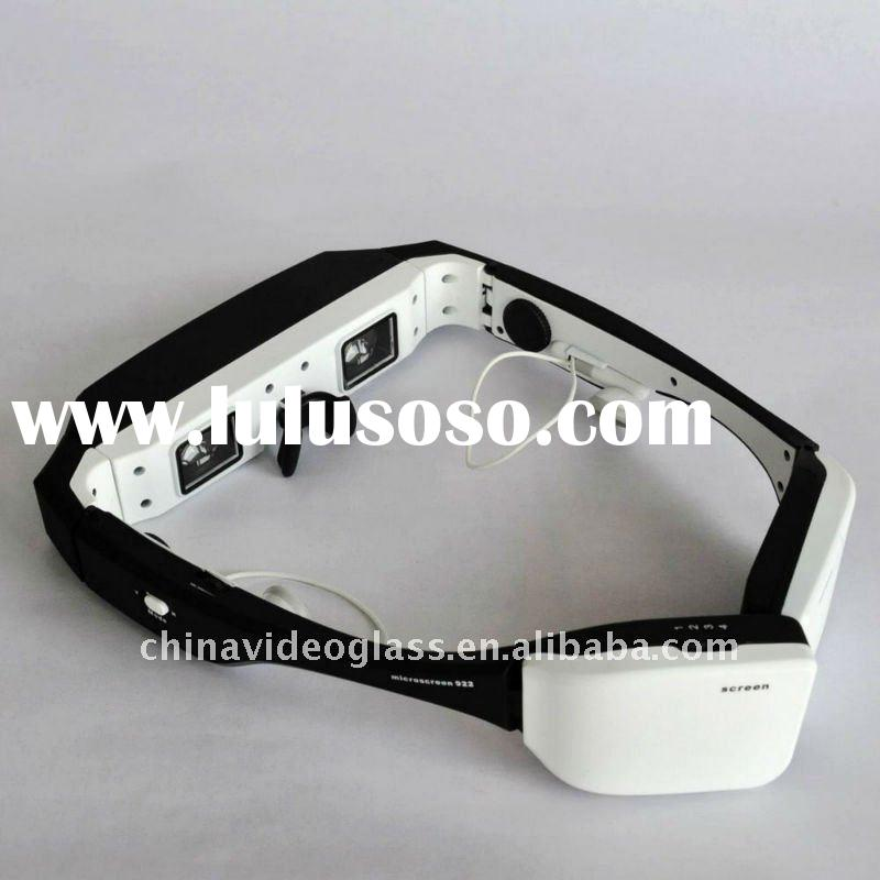 80 inches 3D wireless video glasses