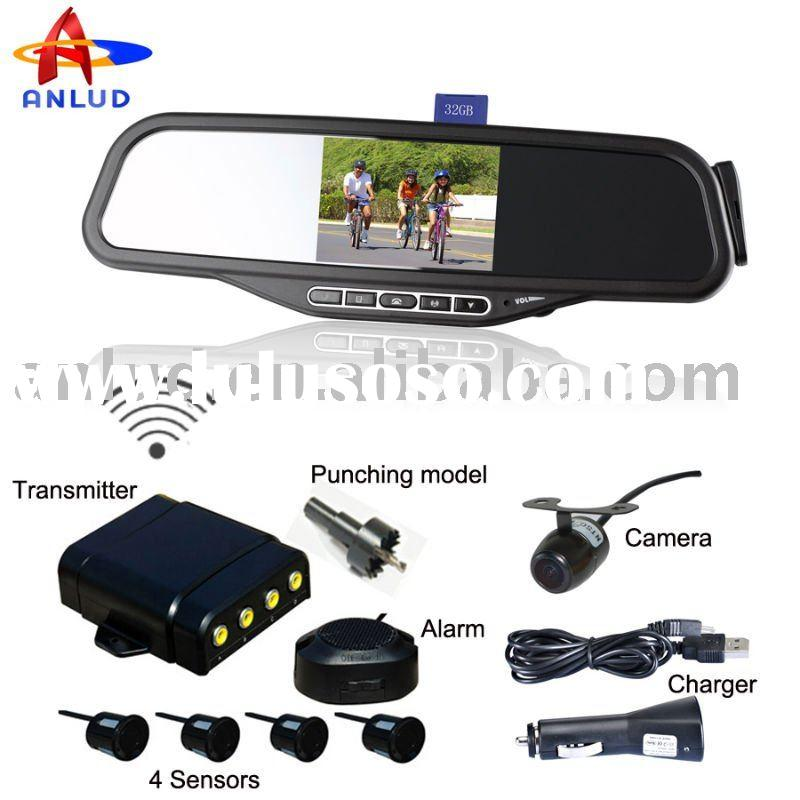 ALD100C parking sensor system with car reverse backup camera