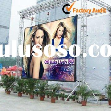 ALS High Bright 7500cd/m2 P10 Outdoor Full Color Led Display Screen