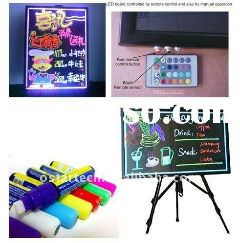 Acrylic Outdoor Sign LED Advertising Menu Board (CE&ROHS)