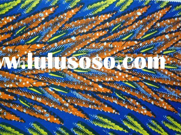 African textiles 100% cotton real wax prints VLISCO wax fabric 10001