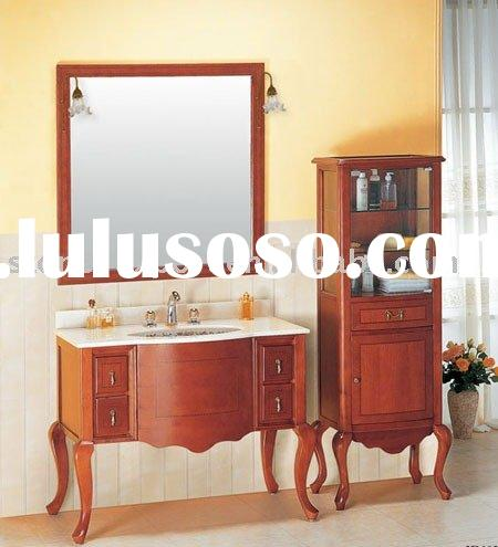 Antique Bathroom Cabinets With Counter Top,Bathroom Furniture,Classic Cabinets