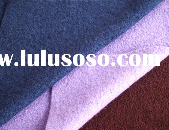 Boiled Knitted Wool Fabric