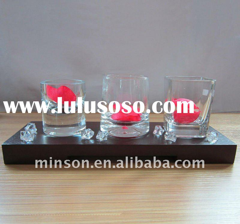 CN Clear Glass Candle Jar Supplier