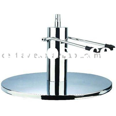 Chrome round base CP-0118, hydraulic styling chair parts salon equipment, salon furniture parts ,bar