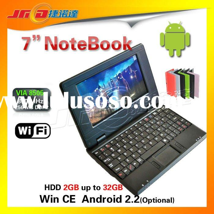 Colorful 7 inch mini laptop Windows CE 6.0 Best selling