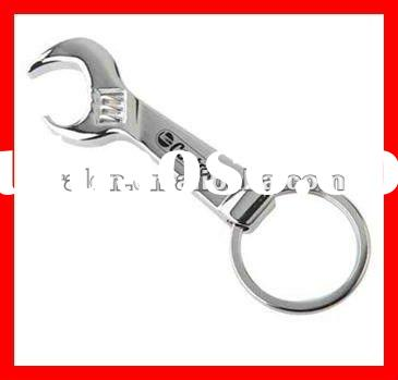 Custom Blank Logo Slipper Metal Can Beer Wine Bottle Opener Colorful Keychain Rings Cheap Promotion