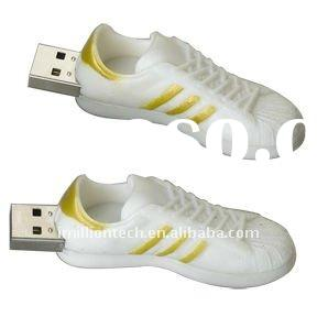 Custom made athletic shoes usb flash memory drives