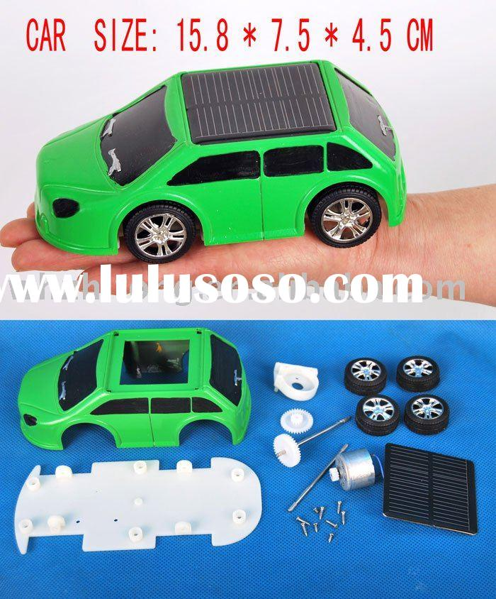 DIY Solar toy Car