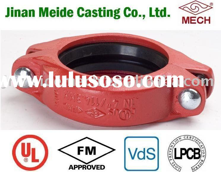 Ductile Iron Grooved Coupling - Flexible Coupling - Fig 1N