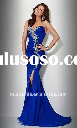 Fashin Evening Dress 2012 Fashion Evening Gowns 2012 Formal Long Dress