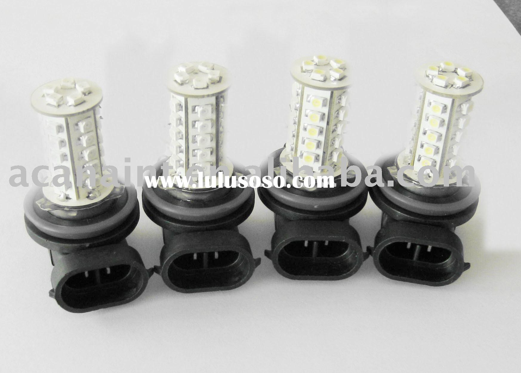 HB4 (9006) 30SMDcar led bulb white yellow blue green made in china high quality led lamp 12/24v 50,0