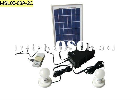 HOT SALE. solar panel lighting system for home use