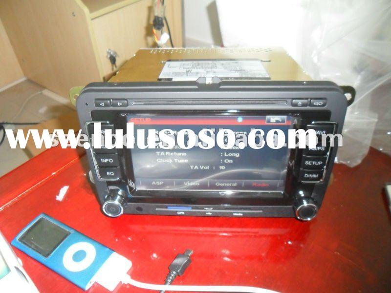Headunit New VW Passat car dvd player with auto gps navigation stereo system Gold edition (VW-7088)