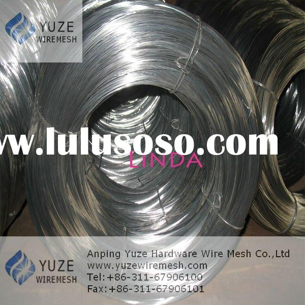Hot Dipped Galvanized Steel Wire(Zinc coating:50g-370g/m2 )