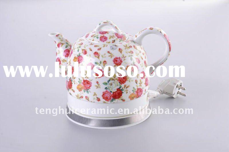 Hot sale electric tea kettle in Europe fine porcelain