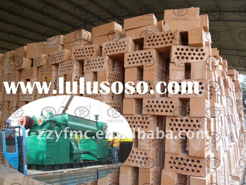 Hot sale in south africa!!!Hollow soil brick making machine,vacuum extruder clay brick machine