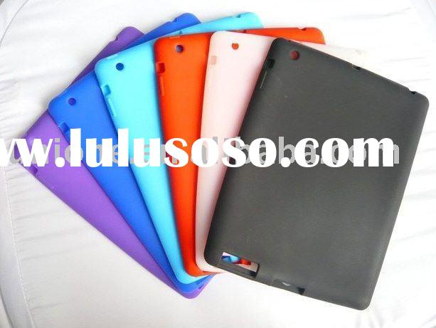 Hot selling wholesale and retail Silicon case for Ipad 2