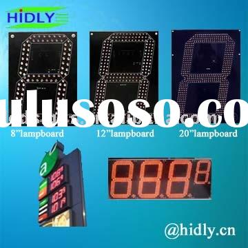 Led oil price display,LED gas display,LED price display,LED digital display,led sign pricing
