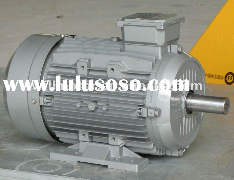 MS Series Aluminum Housing Squirrel Cage Three Phase Induction Motor 0.12kW / 0.16HP