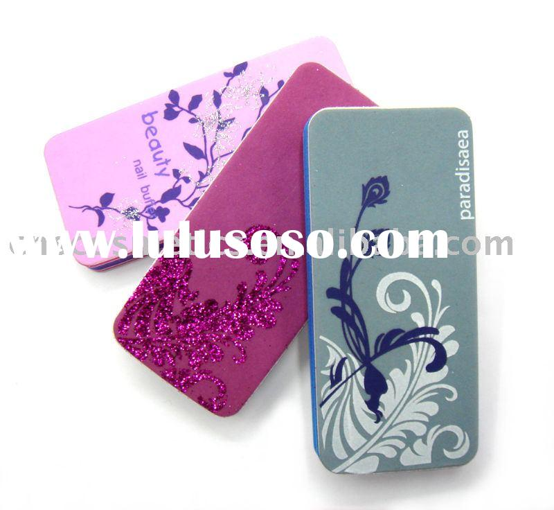 Manicure care/Nail Buffer/Emery Board/beauty tools nail file