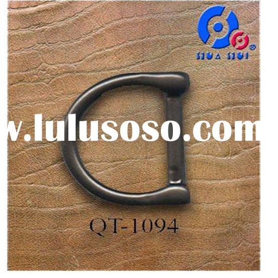 Metal D-ring buckle