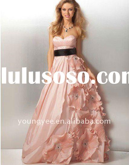New grant sash off shoulder ruffle zuhair murad evening dresses prices(ED10679)