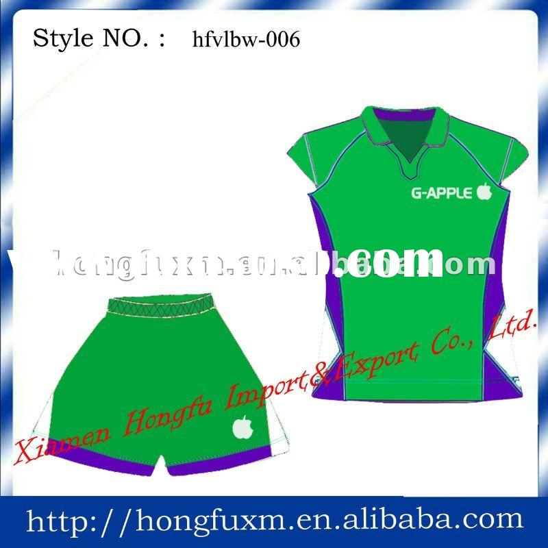 OEM women volleyball uniform