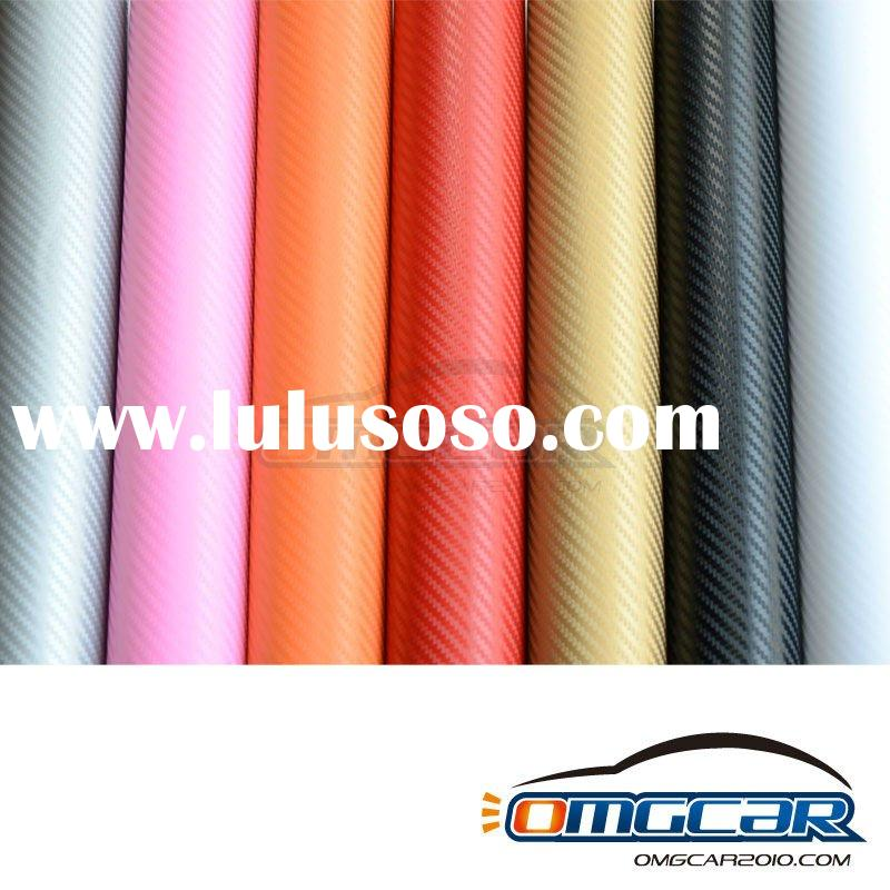 One Lot of High quality 1.52M X 30M 3D Carbon Fiber Vinyl Car Sticker Guaranteed 100%