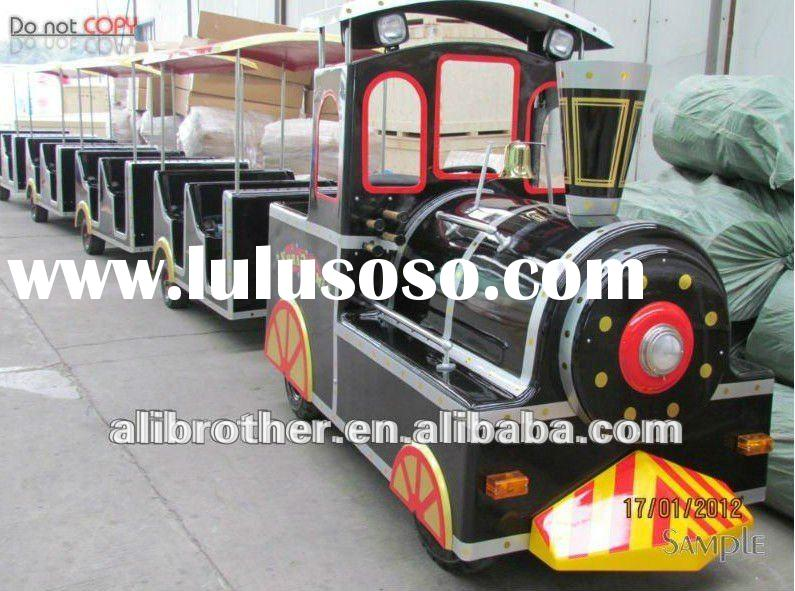 Outdoor trackless train for sales