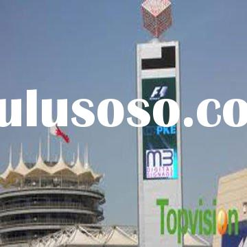 Pitch 10mm Outdoor Rental Led Display Board