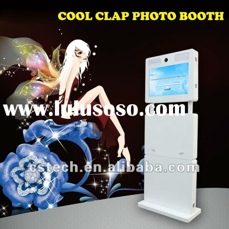 Portable LCD Touch Screen Easily Operated Photo Kiosk Machine