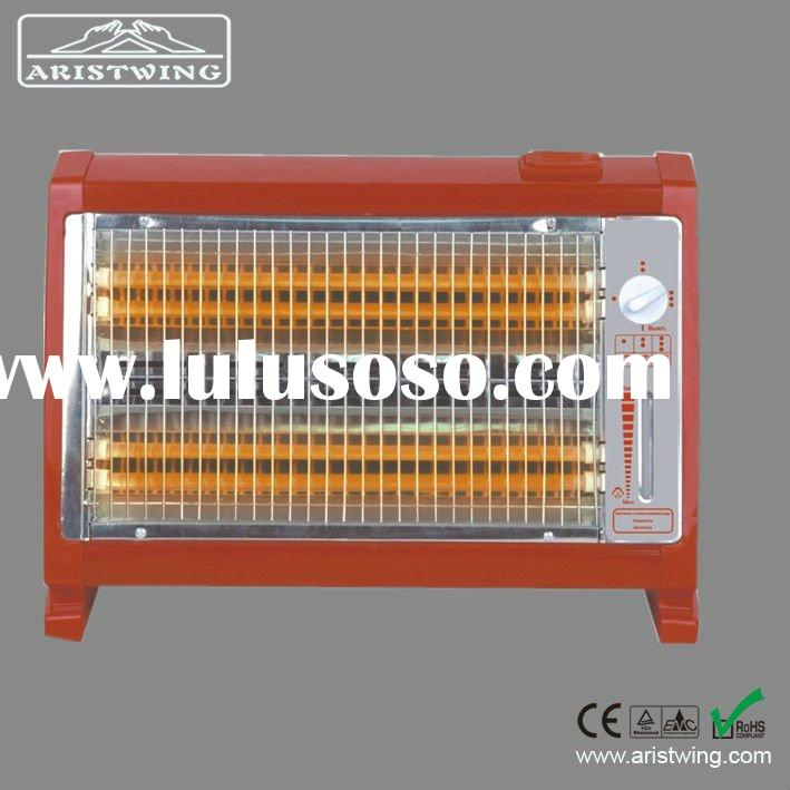 Quartz heater with humidifier and fan inside,popular at Russia and Middle East market