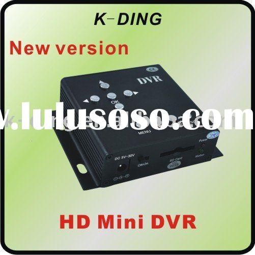 SD Card Mobile DVR Support 32GB SD Card can be used in Car, Home, Bus, Office, D1 704*576, Motion De