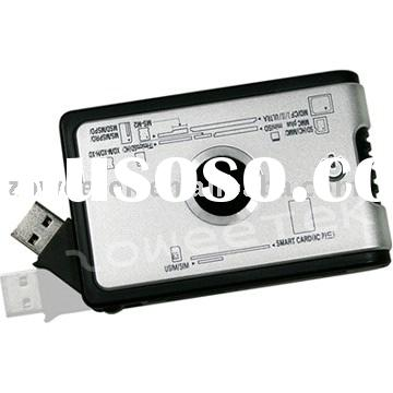SIM Card Reader, Smart Card Reader, All In One Card Reader (59in1: SD(7in1)+ MS(3in1)+ micro(2in1)+
