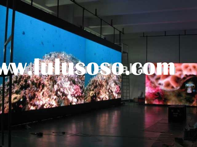 Seamless and high density indoor rental led screen or led matrix board and mobile rental screens