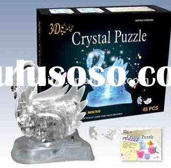 3d crystal puzzle saturn instructions