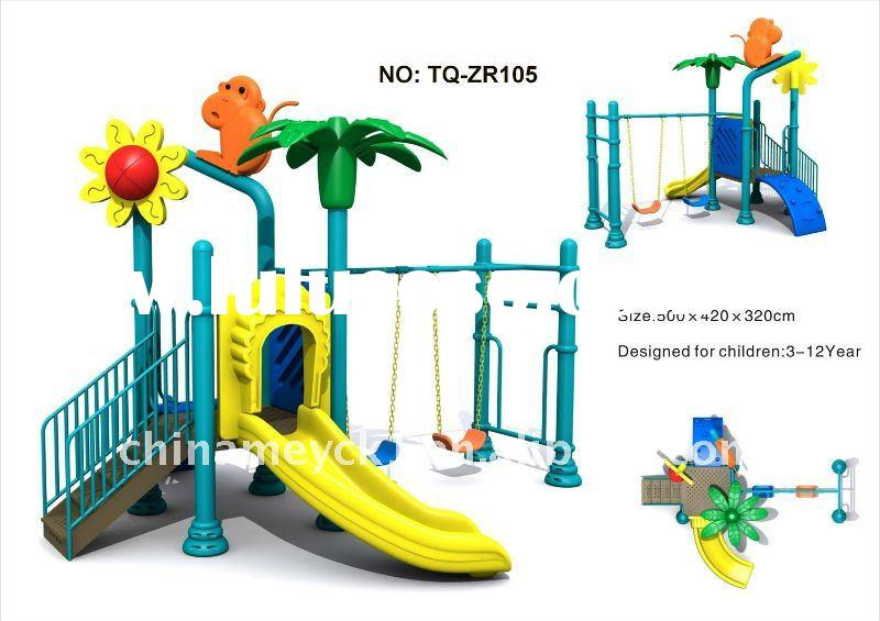 The great nice kid's outdoor playground equipment TQ- ZR105 used outdoor playground equipmen