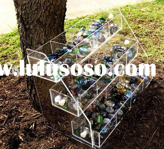 Transparent Candy Plastic Display stand/Acrylic product/PMMA Product{FOSHAN}