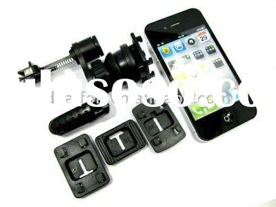 Universal Adjustable Car Air Vent Mount Holder Clip Cell Phone PDA GPS Car Holder Adapter